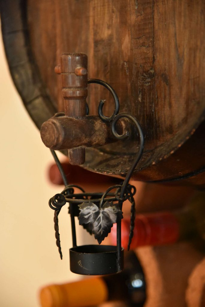 Kleines Weinfass
